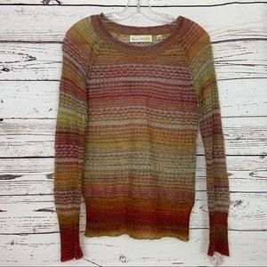 Charlie & Robin Anthropologie Sheer Sweater